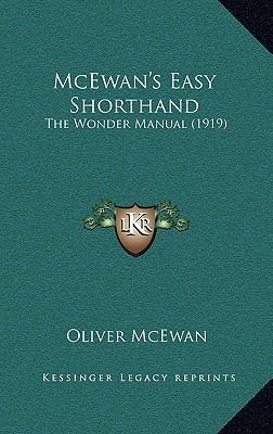 McEwan's Easy Shorthand