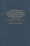 A history of popular women's magazines in the United States, 1792-1995