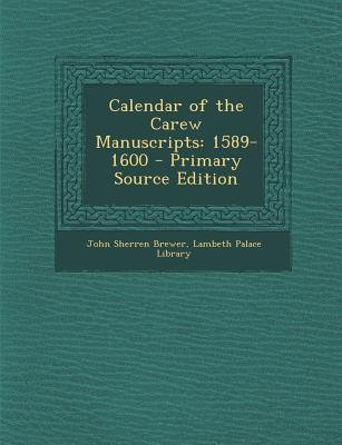 Calendar of the Carew Manuscripts
