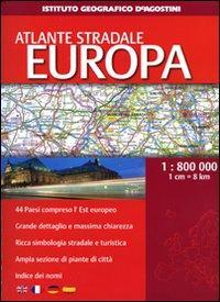 Atlante stradale Europa 1