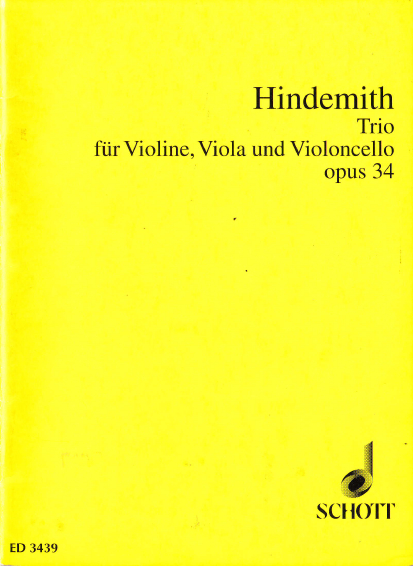 Trio für Violine, Viola und Violoncello