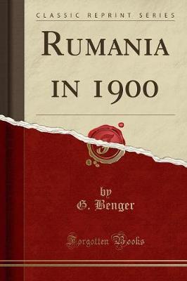 Rumania in 1900 (Classic Reprint)