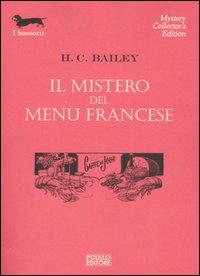 Il mistero del menu francese