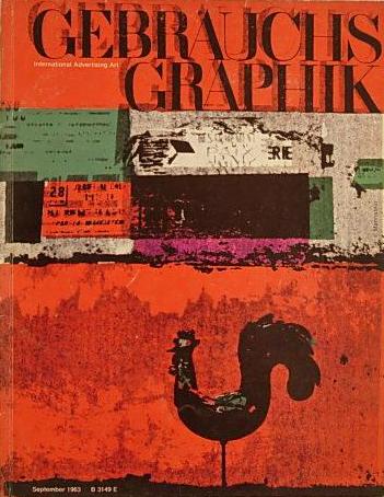 Gebrauchsgraphik: Monatszeitschrift für visuelle Communication und künstlerische Werbung, 9 (1963)