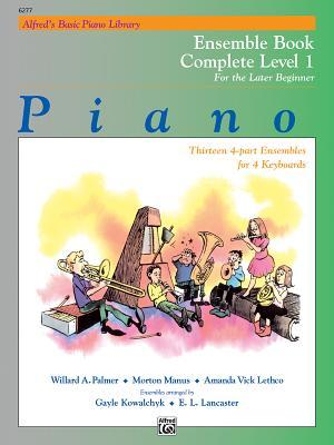 Piano Ensemble Book Complete Level 1