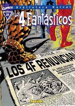 Biblioteca Marvel: Los 4 Fantásticos #27 (de 32)