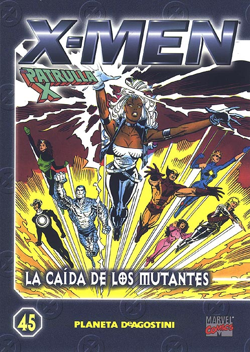 Coleccionable X-Men/Patrulla-X #45 (de 45)