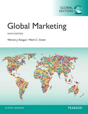 Global Marketing plus MyMarketingLab with Pearson eText, Global Edition