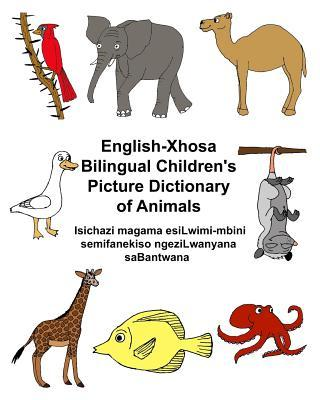 English-xhosa Children's Picture Dictionary of Animals