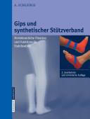 Gips und synthetischer Stützverband
