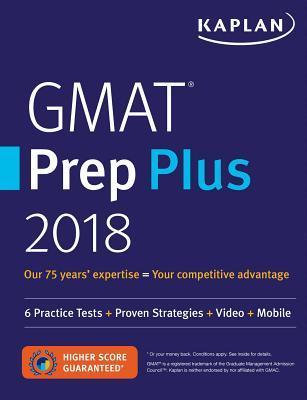 Kaplan GMAT Prep Plus 2018