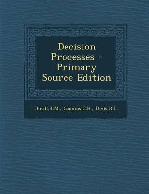 Decision Processes