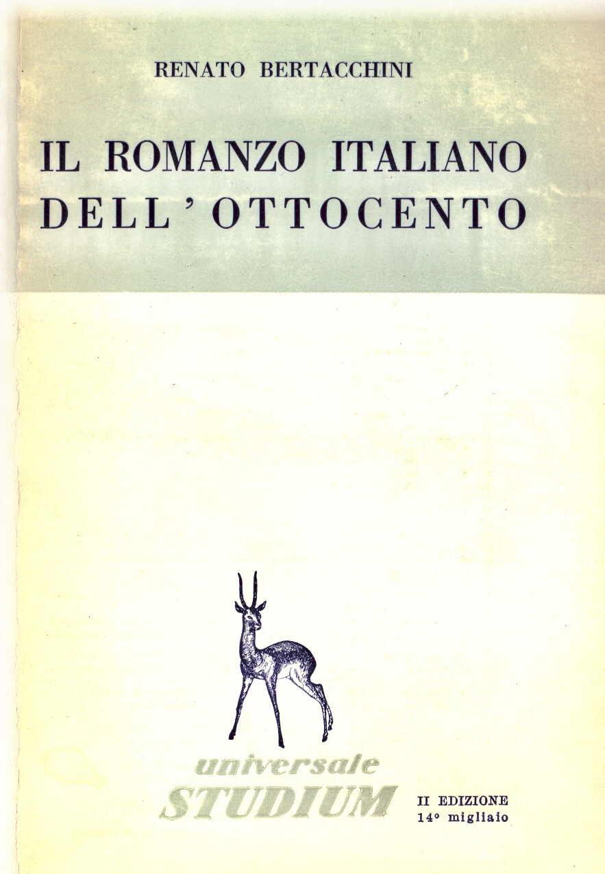 Il romanzo italiano dell'Ottocento