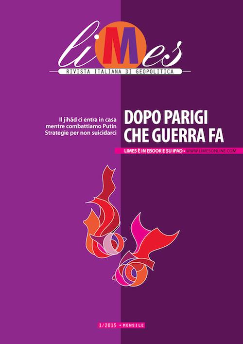 Limes, Rivista italiana di geopolitica, 1/2015