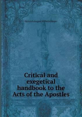 Critical and Exegeti...