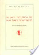 Nuevos estudios de lingüística indoeuropea