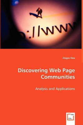 Discovering Web Page Communities