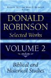 Donald Robinson. Selected Works