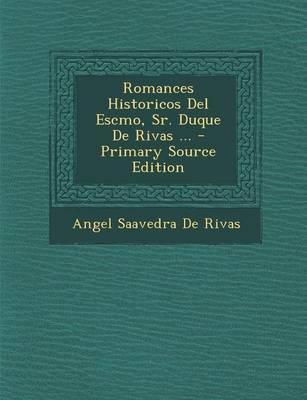 Romances Historicos ...