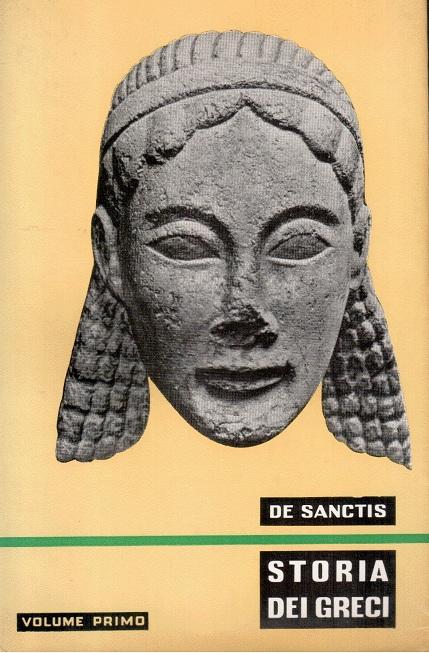 Storia dei Greci - Volume primo