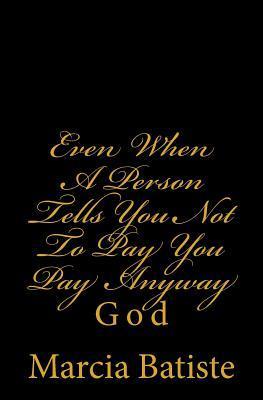 Even When a Person T...