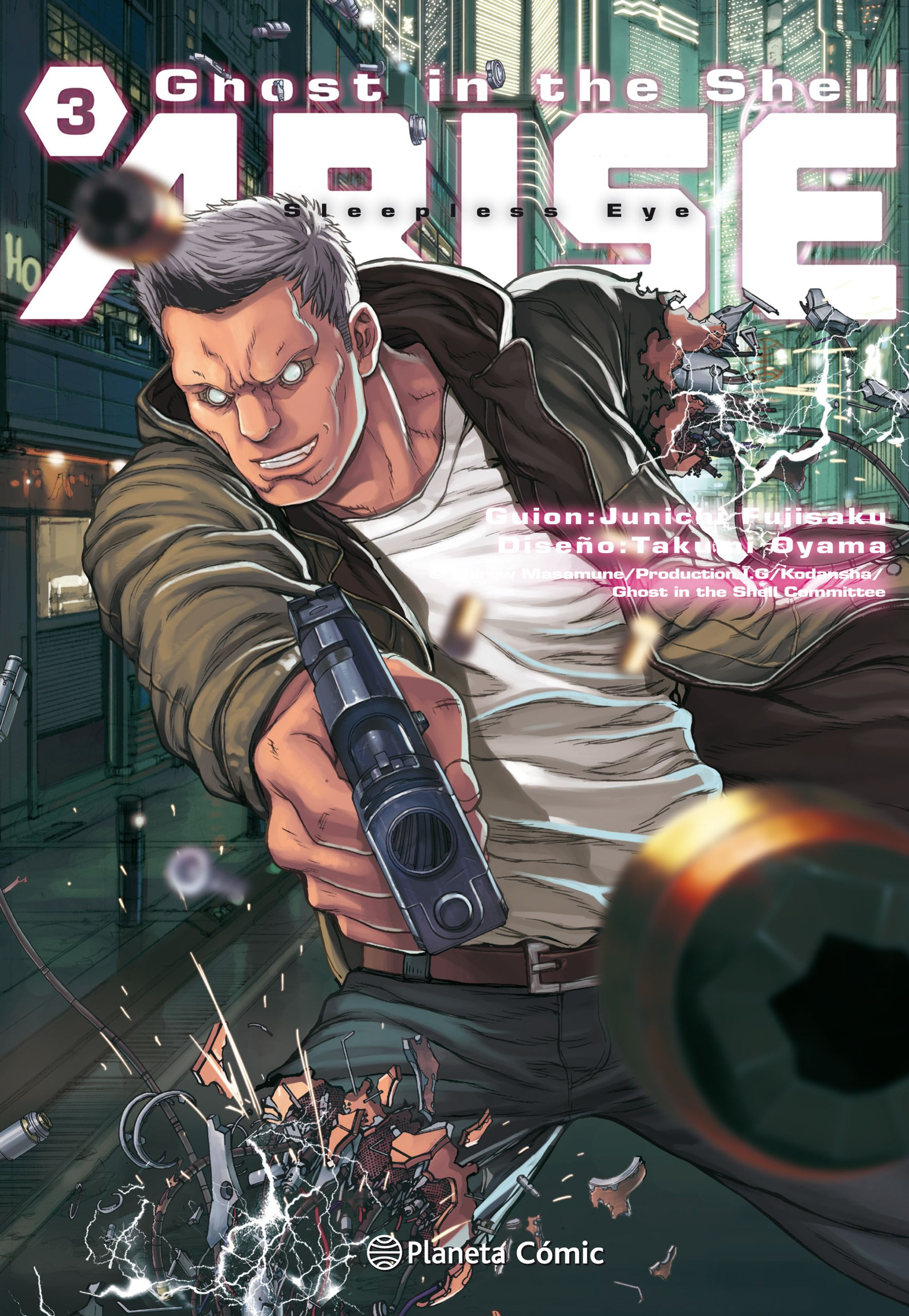 Ghost in the Shell Arise #3