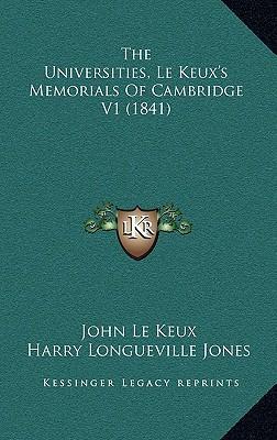 The Universities, Le Keux's Memorials of Cambridge V1 (1841)