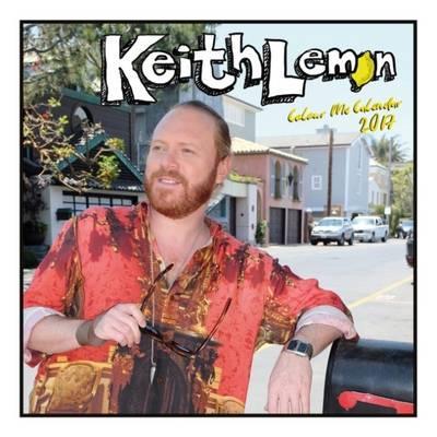 Keith Lemon Official 2017 Square Wall Calendar - Colouring in Calendar