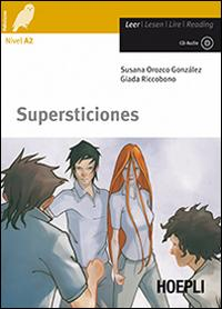 Supersticiones. Con CD Audio