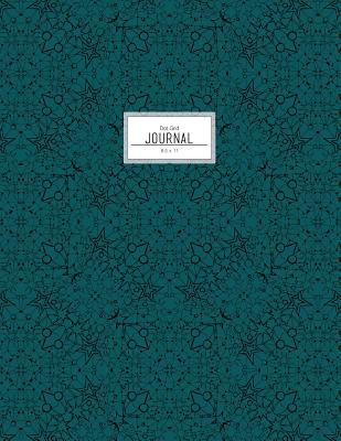 Pine Green Celestial Dot Grid Journal