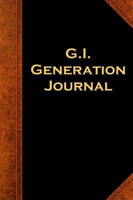 G.i. Generation Journal Vintage Style