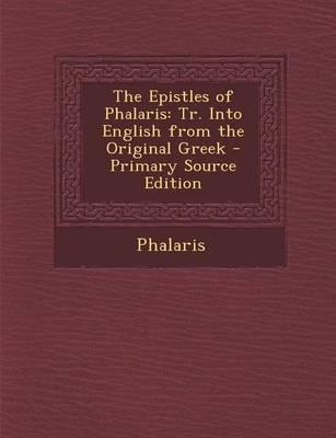 The Epistles of Phalaris