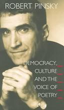 Democracy, Culture a...