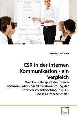 CSR in der internen Kommunikation - ein Vergleich