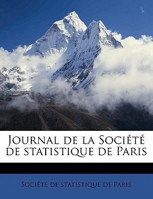 Journal de la Société de statistique de Paris Volume 1