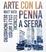 Cover of Arte con la penna a sfera