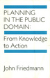 Cover of Planning in the Public Domain