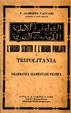 Cover of L'arabo scritto e l'arabo parlato in Tripolitania