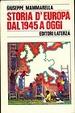 Cover of Storia d'Europa dal 1945 ad oggi