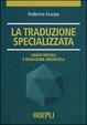 Cover of La traduzione specializzata