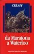 Cover of Da Maratona a Waterloo