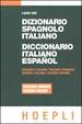 Cover of Dizionario spagnolo-italiano = Diccionario italiano-español