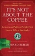 Cover of It's Not about the Coffee