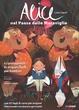 Cover of Alice nel paese delle meraviglie e i protagonisti in origami facili per bambini