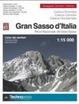 Cover of Gran Sasso d'Italia. Carta dei sentieri 1:15.000