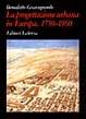 Cover of La progettazione urbana in Europa, 1750-1960