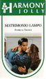Cover of MATRIMONIO LAMPO