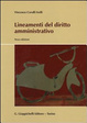 Cover of Lineamenti del diritto amministrativo