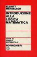 Cover of Introduzione alla logica matematica