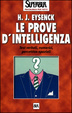 Cover of Le prove d'intelligenza